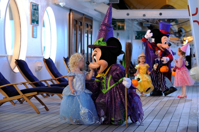Halloween on the High Seas